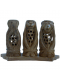 Monkey Set Handcrafted Wooden