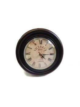 5.5 inches Antique Maritime Brass Paperweight Table Clock