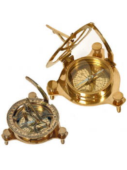 Nautical Sun Dial Compass