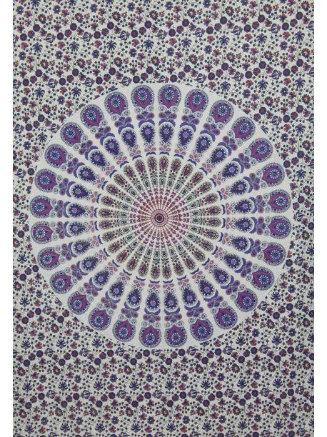 Handmade Indian Tapestry Mandala Wall Hanging Queen Bedspread Ethnic Wall Art