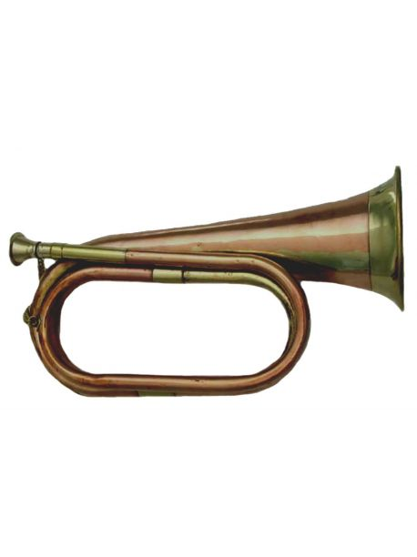 Brass and Copper Bugle - Cavalry US British Army