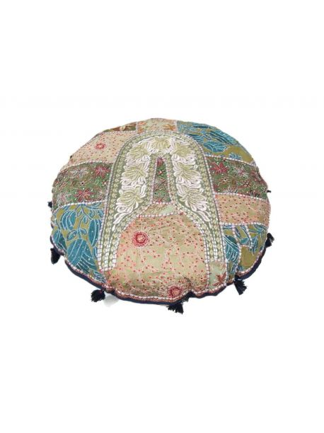 Barneau Handmade Indian Floor Pillow -  -