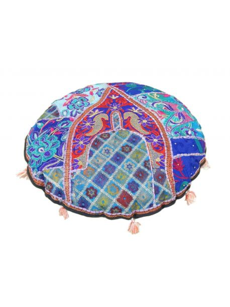 Realite Handmade Cotton Floor Pouf -  -