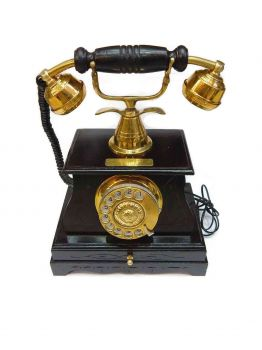 Aura Rotary Dial Old Fashioned Phone