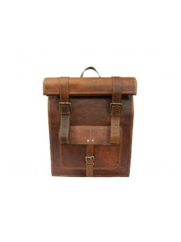 BARCAO Vintage Leather Backpack Handbag
