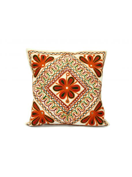 Zari Cushion Covers Embroidery Set