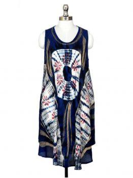 Blue Sea Sexy Beach Dress -  -