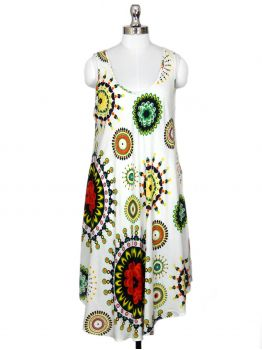 Mondray Sleeveless Tunic Dress