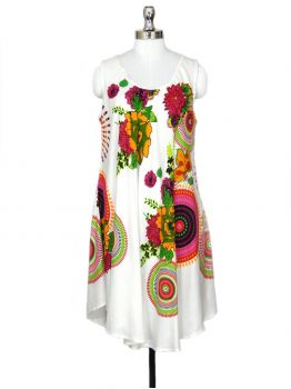 Koren White Beach Party Dress