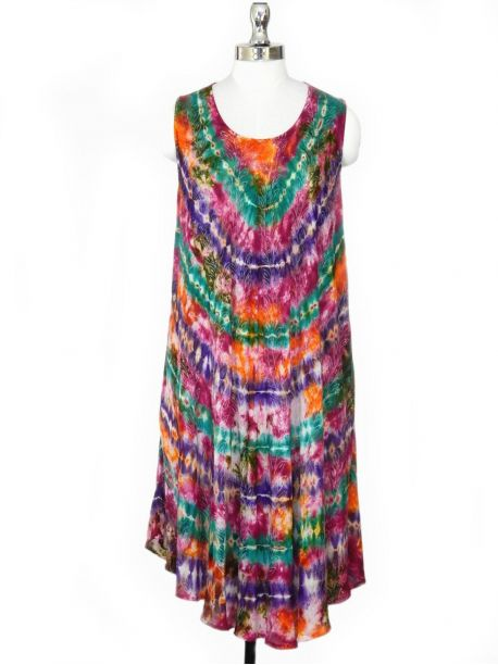 Riley Beach Cover up Tunic Dress -  -