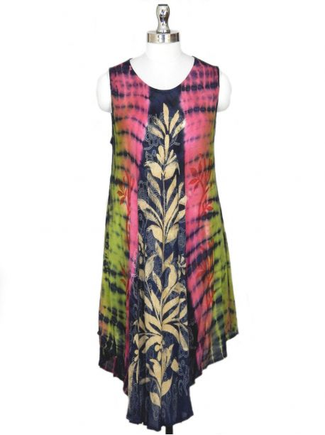 Marlo Tunic Beach Dress -  -