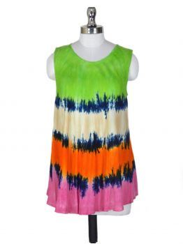 Tribal Embroidered Tank Top
