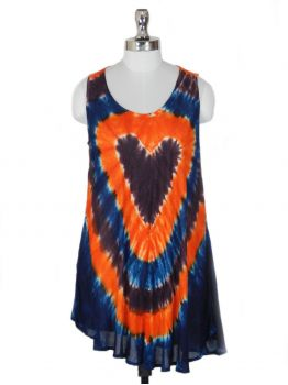 Haneda Sleeveless Tie-Dye Top