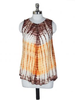 Victor Relaxed Fit Sleeveless Blouse