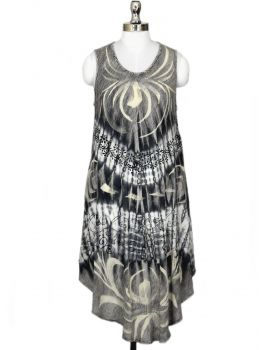 Bradbury Grey Sleeveless Dress
