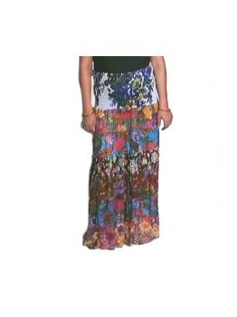 Be Confident High Waisted Long Skirt