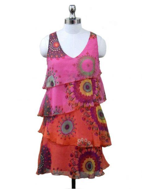 Elvie Frill Dress -  -