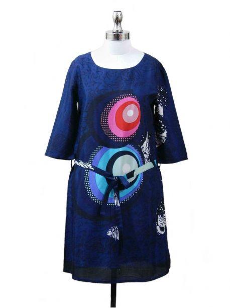 Southsea 3/4 Sleeve Lace Dress -  -