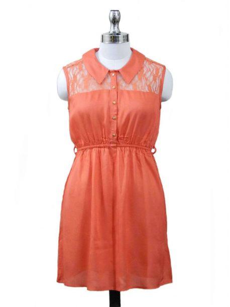 Happy Day Sleeveless Dress -  -