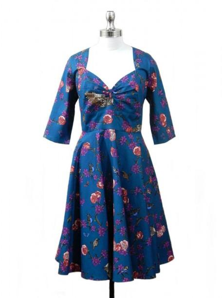 Treakdown Flare Dress -  -