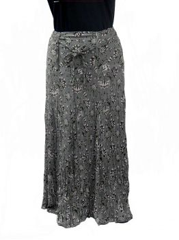 Beni long grey skirt womens