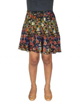 Koren womens mini skirt