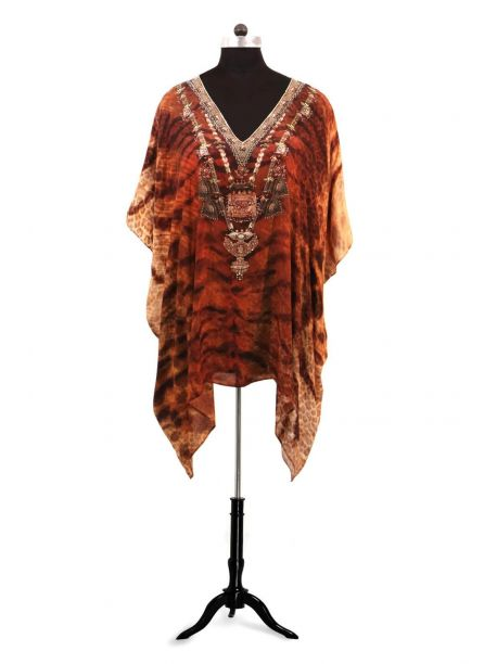 Printed Kaftan Tops