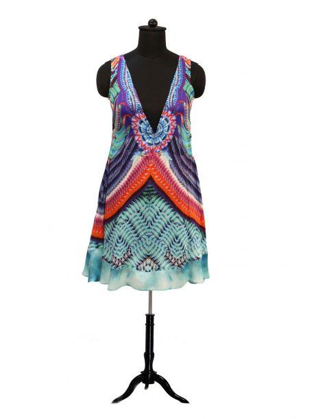 Musset Indian Kaftan Dress -  -