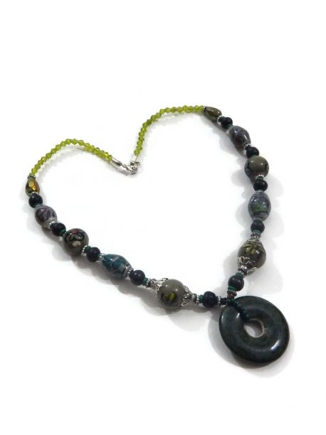 Lanark Indian Jewelry Necklace -  -