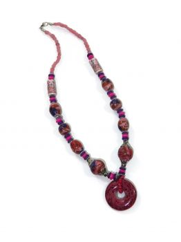 Bradbury Single Beaded Necklace