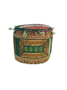 Colorful Large Poufs Ottoman