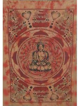 Buddhist Tapestry Boho Mandala Tapestries Psychedelic Throw Bedspread