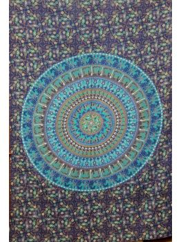Dorm Mandala Tapestry Wall Hanging Throw Cotton Bedspread