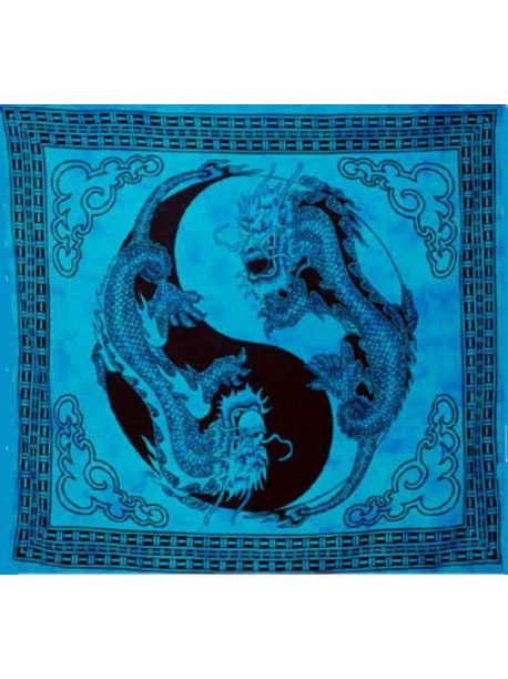 Dragon Bohemian Wall Tapestries Black Appartment Decor