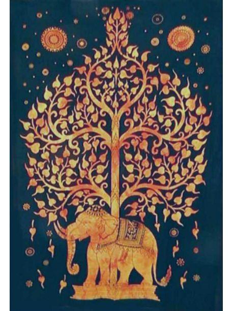 Elephant Wall Tapestries Dorm Decor