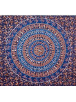 Mandala Tapestry Wall Hanging Hippie Elephant Tapestries Cotton Bedspread