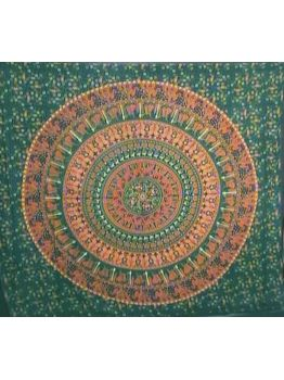 Elephant Mandala Bohemian Tapestry Wall Tapestries Ethnic Bedspread