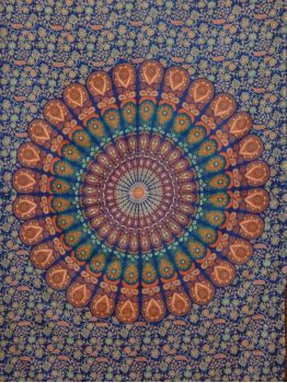 Mandala Tapestry Wall Hanging Hippie Tapestries Bedspread