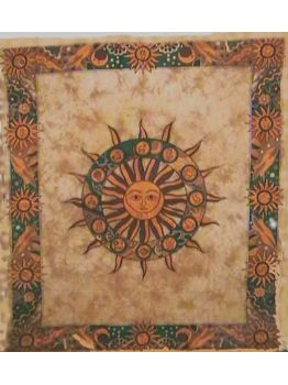 Sun and Moon Tapestries Hippie Tapestry Wall Hanging