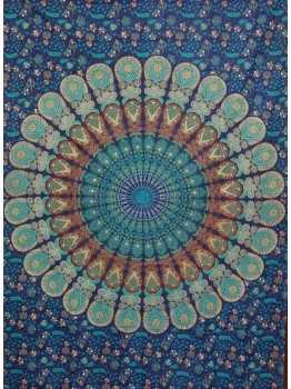 Mandala Tapestries Hippie Wall Hanging Tapestry Bedspread Throw