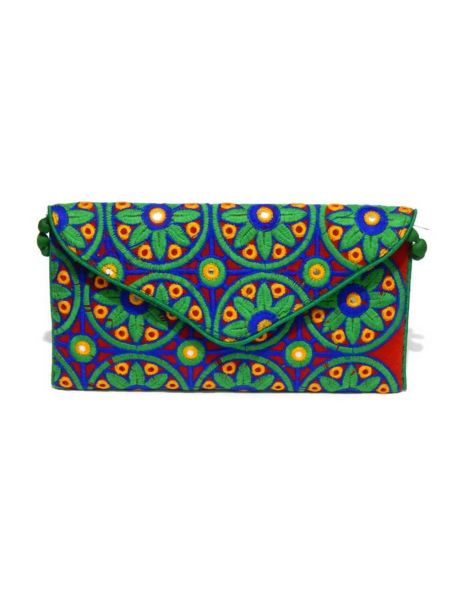 Handmade Multi Colored Gift Bags Vintage Handbag Indian Purse Multicolor Wedding Style Bag
