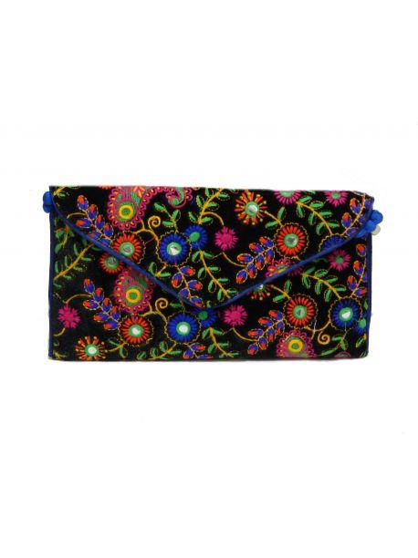 Handmade Multi Coloured Clutch Handbags Vintage Bag Wedding Indian Embroidered Antique Purse