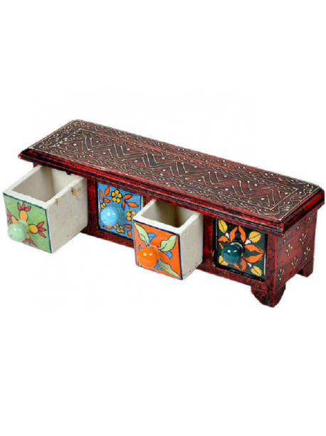 Wooden Ceramic Drawer Pottery