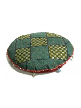 Handmade Indian Footstools Pouffes Ethnic Pouf Ottoman Art Embroidered Pouffe Foot Stool