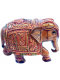 Wooden Handcrafted Painted Elephant